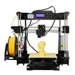 ALUNAR Hochauflösender Desktop 3D Printer Prusa I3 3D Drucker Selbstmontage DIY Kit 3D-Druckersatz Reprap 3D Printing