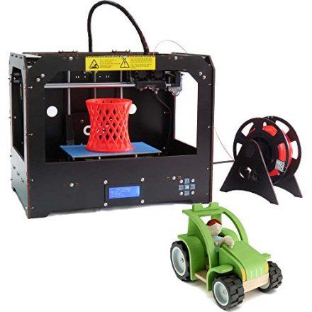 Neue Desktop 3D-Drucker Dual-Extruder 3D-Drucker (Schwarz)