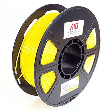 AIO Robotics AIOYELLOW PLA-Filament für 3D-Drucker, 0,5 kg Spule, Maßgenauigkeit +/- 0,02 mm, 1,75 mm, Gelb